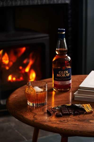 Glen Moray Sherry Cask Finish Marmalade Old Fashioned.