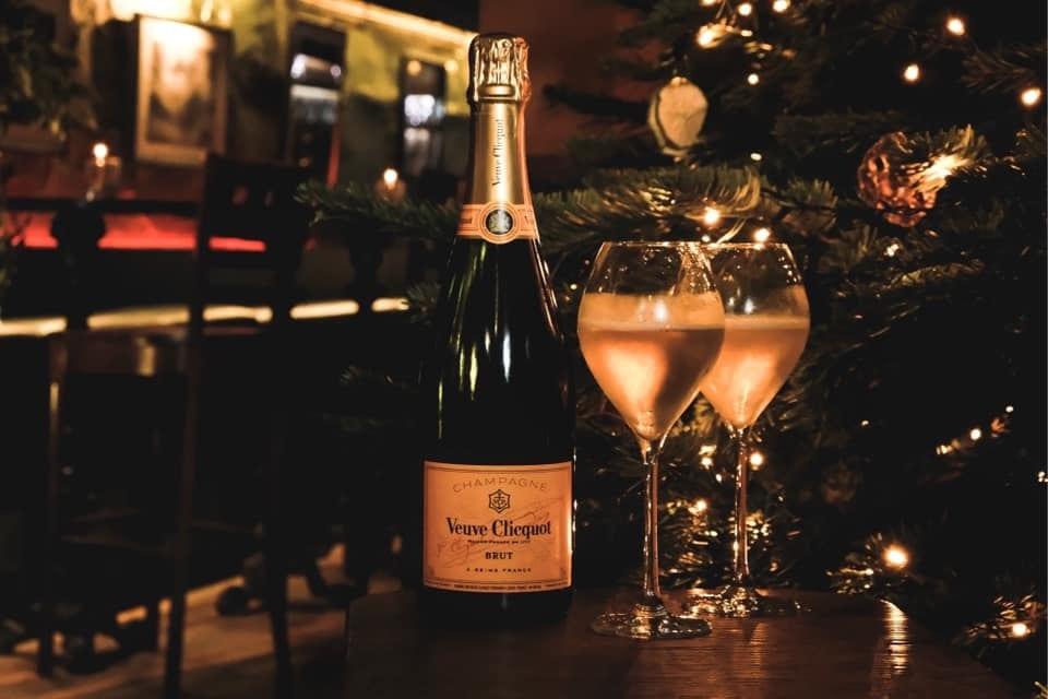 Kelvingrove cafe Veuve cliquot champagne grotto