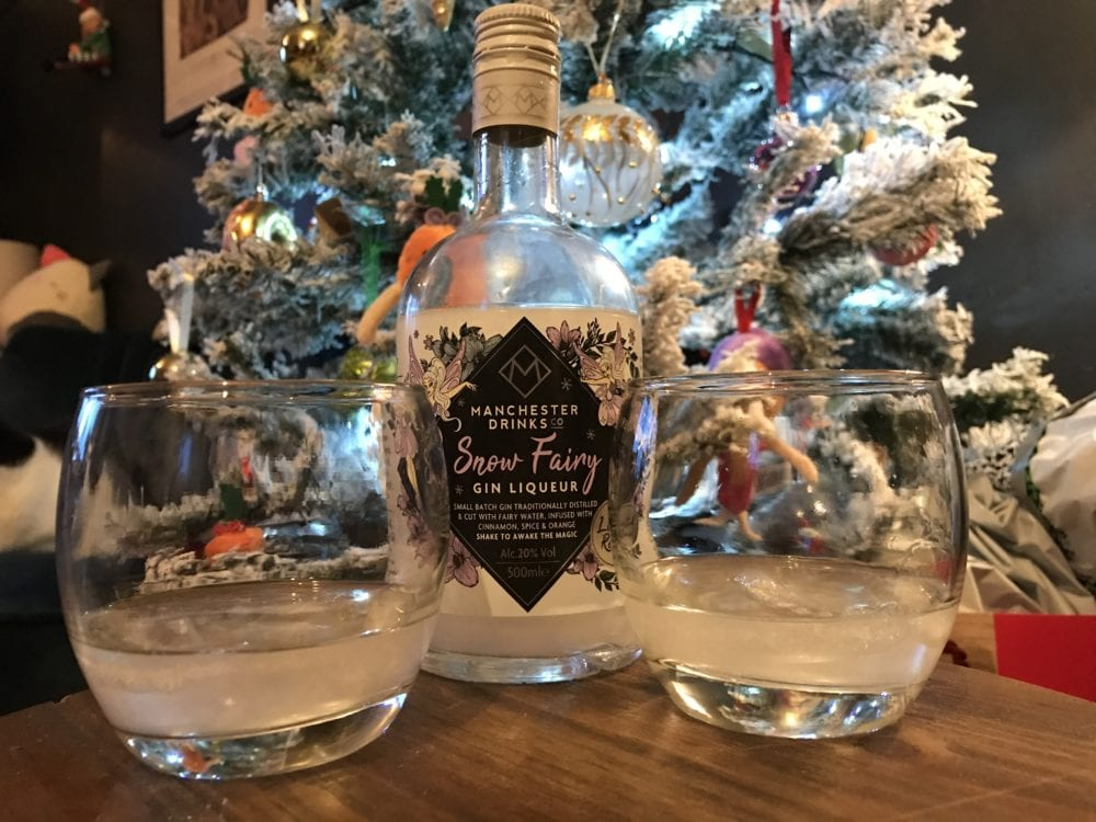 snow fairy gin liqueur home bargains manchester drinks co