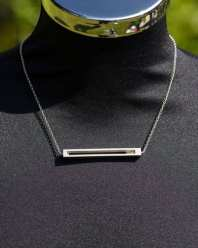 national trust silver necklace