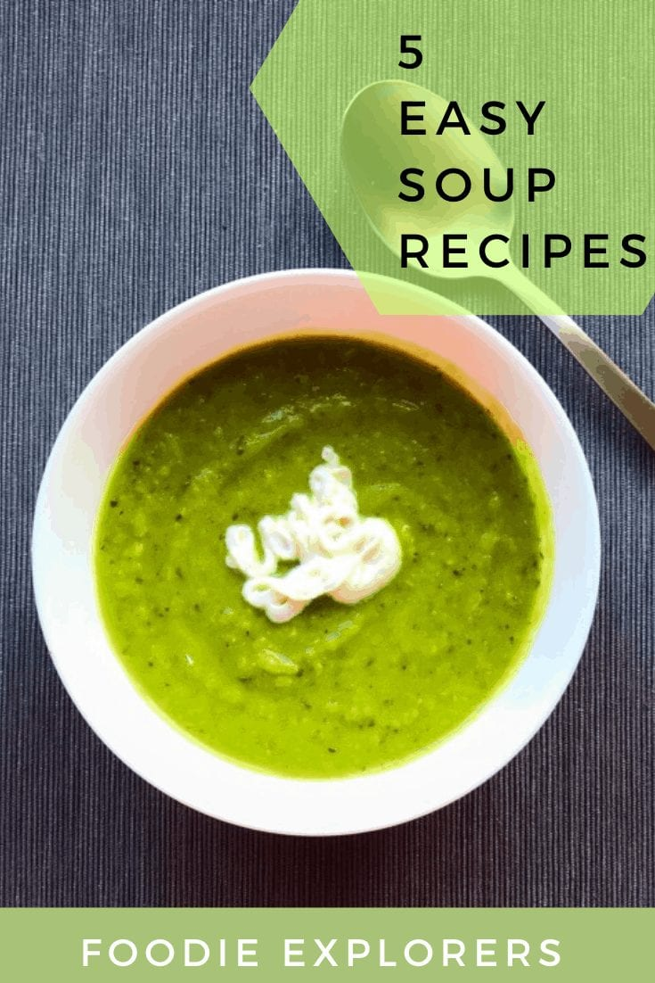 5 easy to make soups