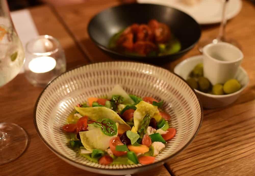 seasonal vegetable iberica tapas