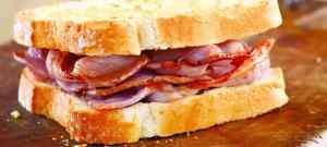 North Yorkshire moors railway Bacon buttie