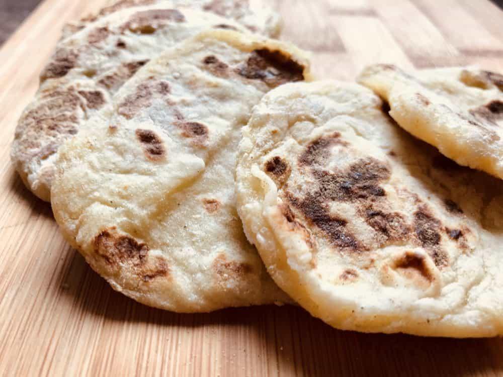 scottish potato scones cooked