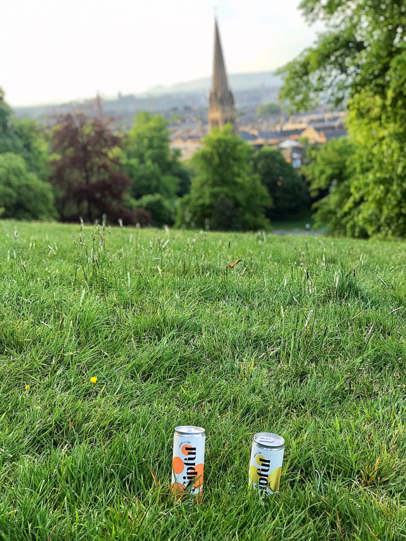 sipful drinks in the park