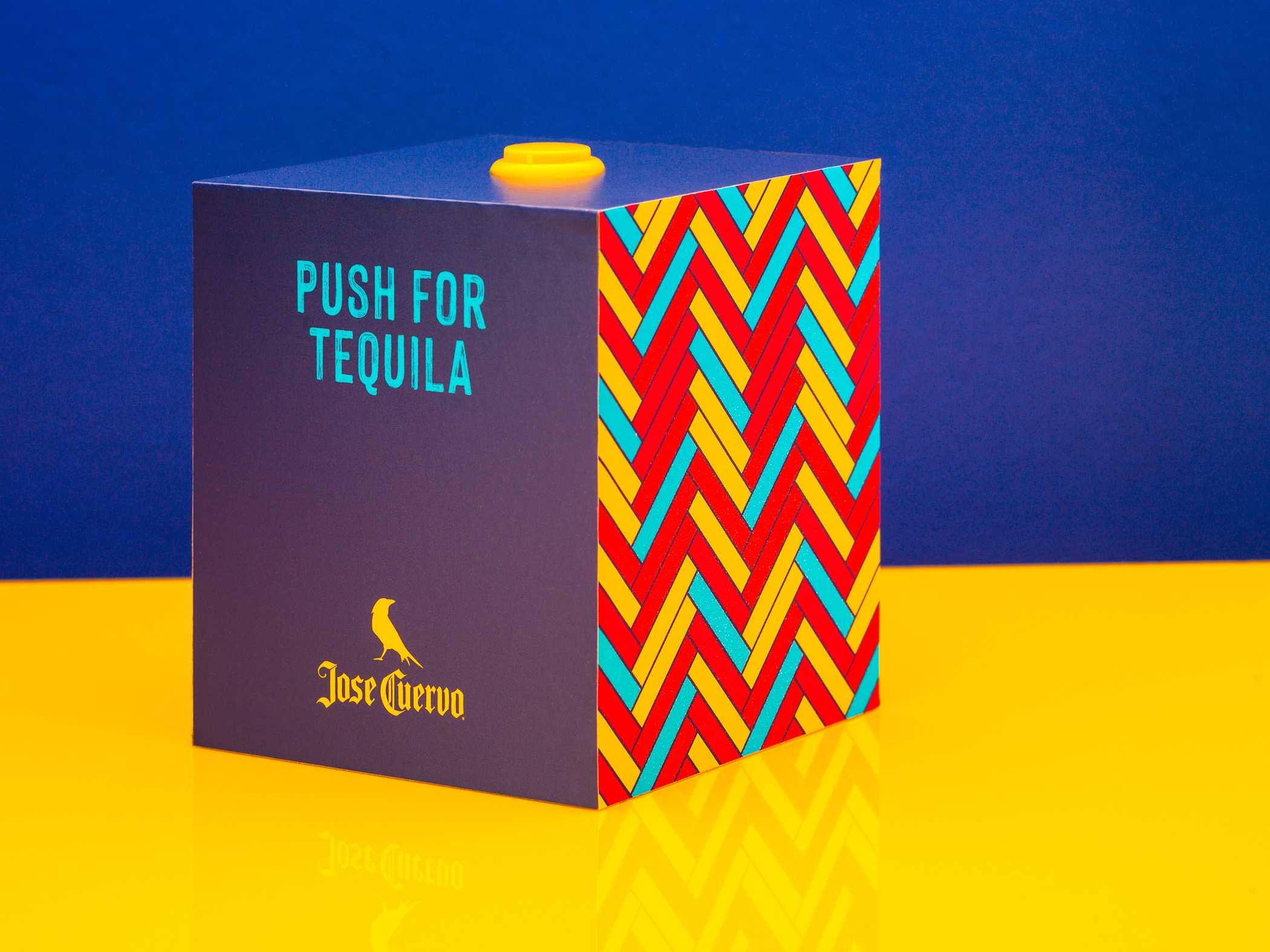 Jose Cuervo tequila button national tequila day
