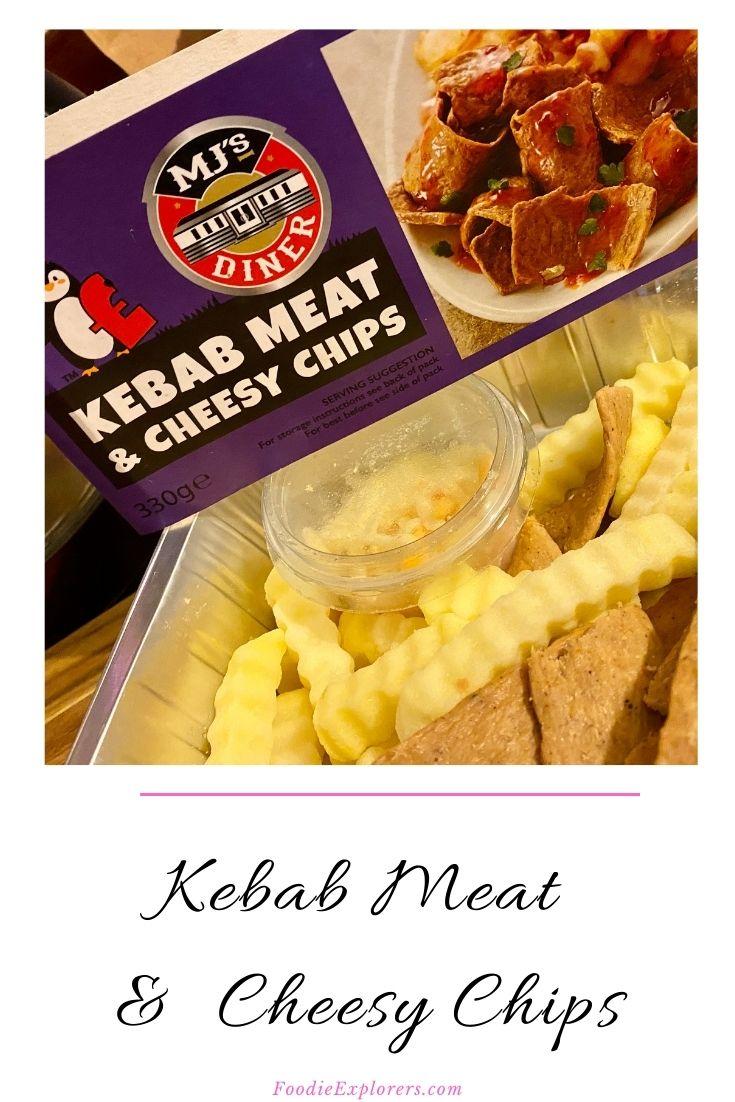 Kebab meat cheesy chips Pinterest pin