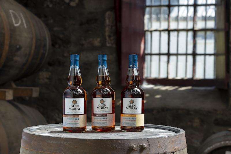 Glen Moray Distillery Edition range mid res