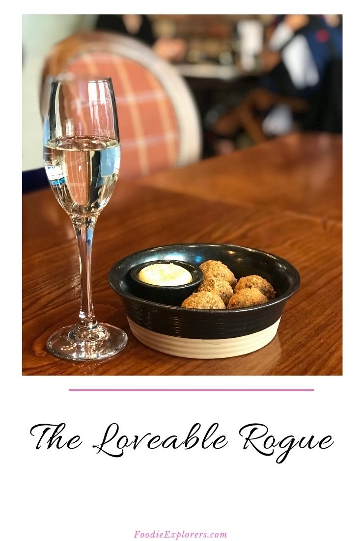 The Loveable Rogue Glasgow Pinterest pin