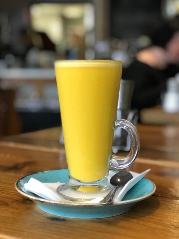 heaven scent milnathort turmeric latte