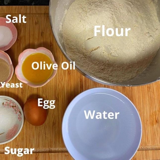 homemade bread bowl ingredients