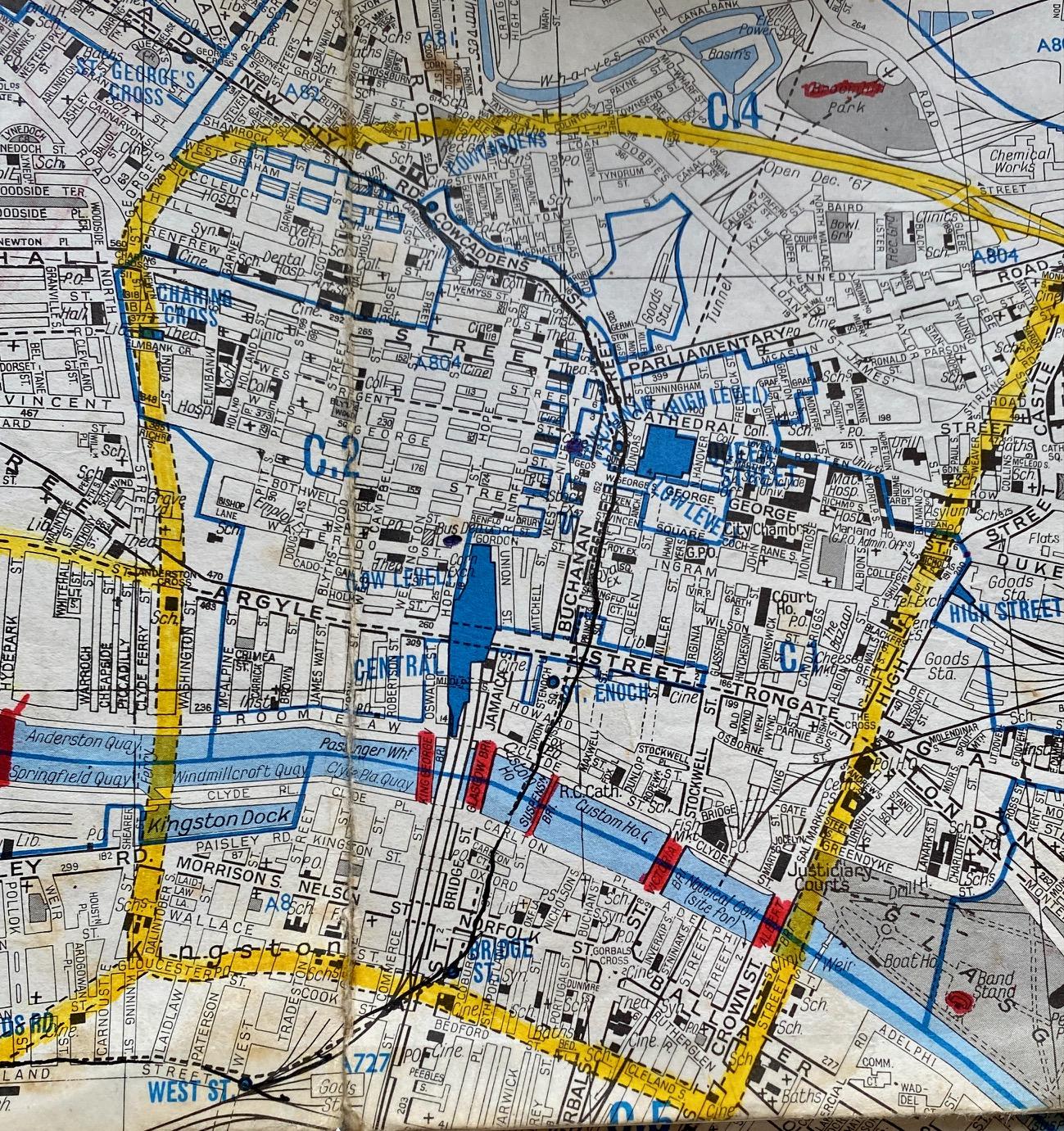Glasgow Map 1