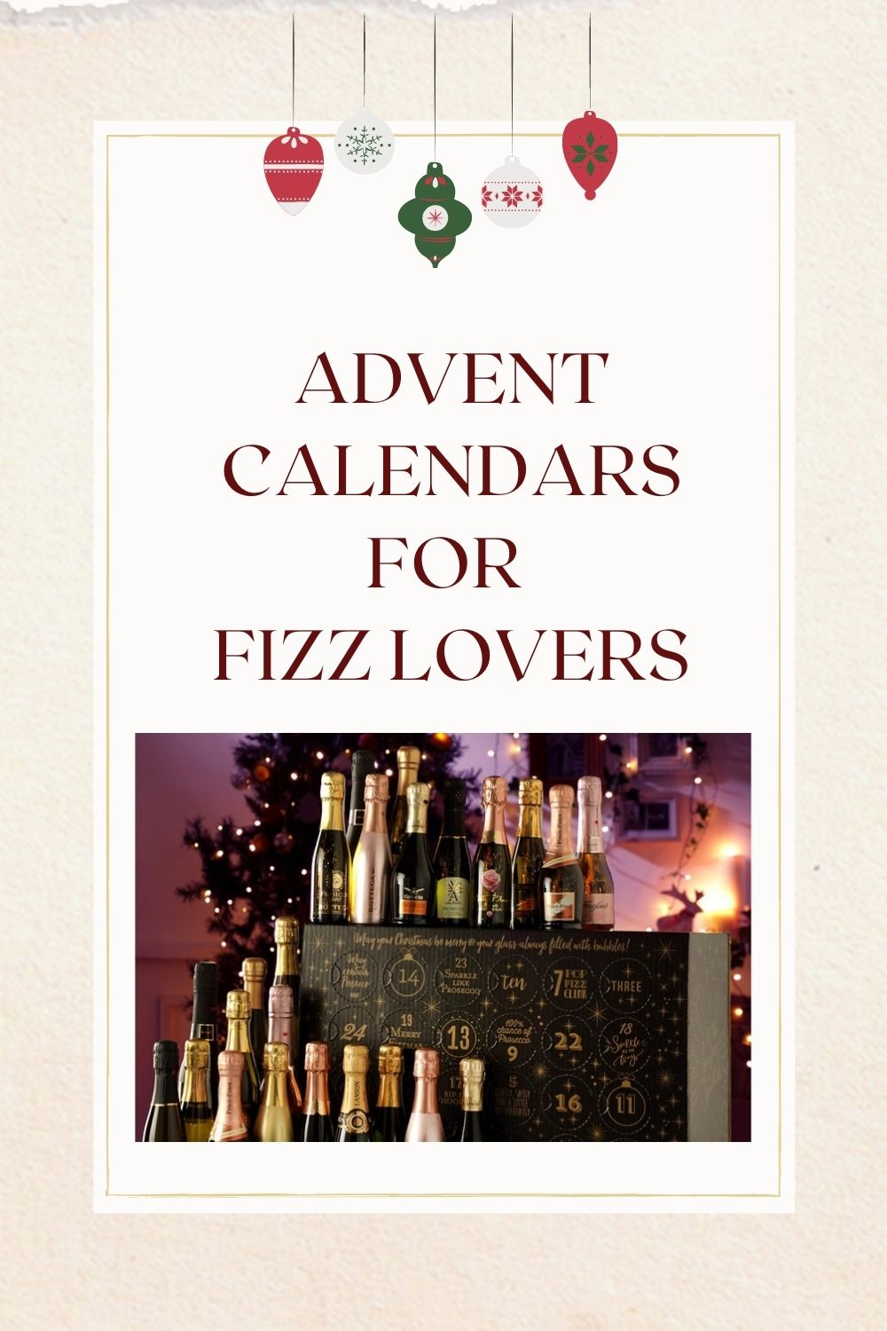fizz and wine advent calendar pinterest pin