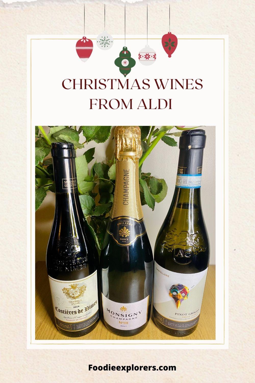 Aldi Christmas wines