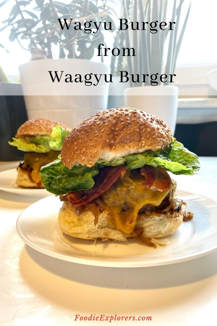 Wagyu burger delivery nationwide