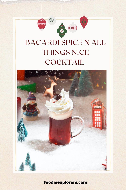 BACARDI Spice n all Things Nice
