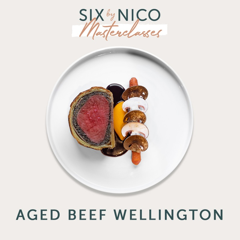 Six by Nico masterclass beef Wellington