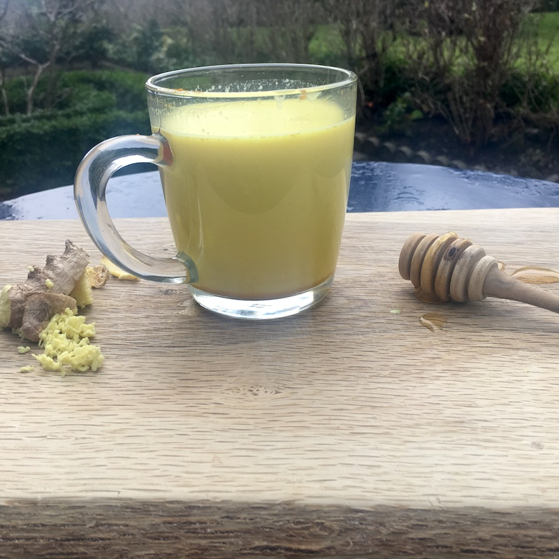 ginger and turmeric drink
