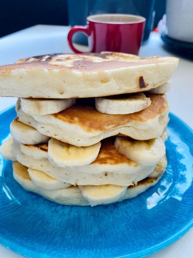 OGGS egg free vegan pancakes