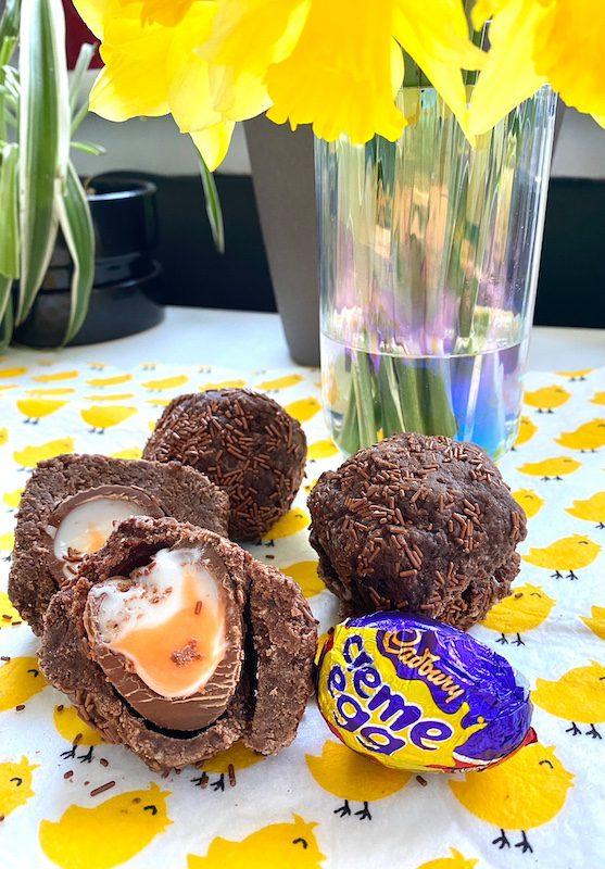 creme eggs scotch eggs recipe 2