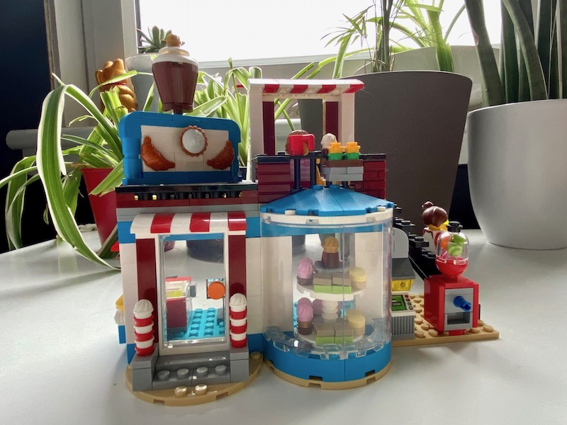 ice cream shop lego
