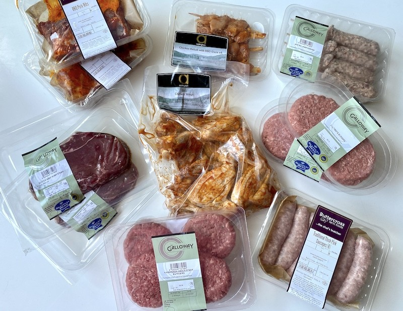 44 foods large bbq meat pack