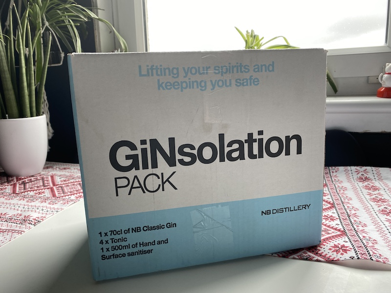 ginsolation pack NB gin