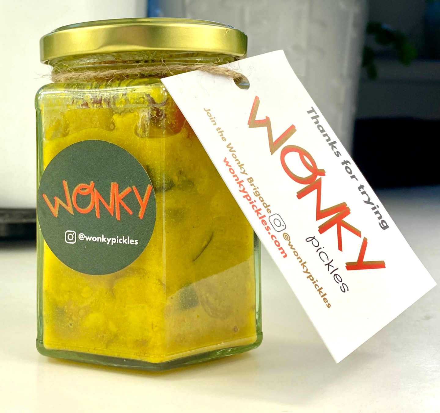 Wonky pickles piccalilli