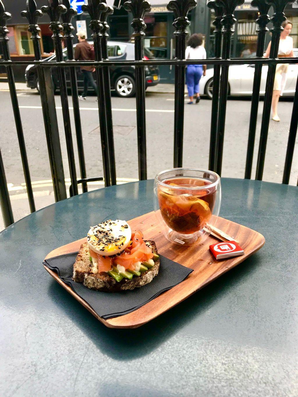 KiosKafe London food