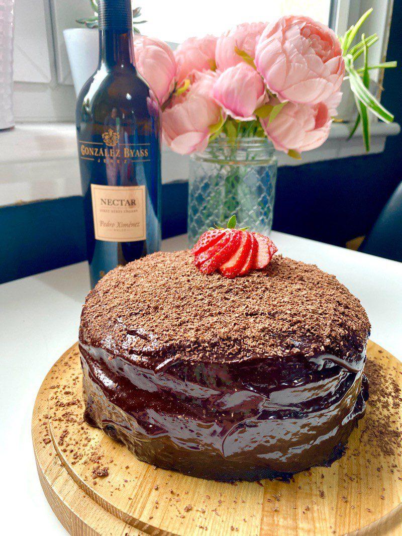 Chocolate Sherry cake recipe