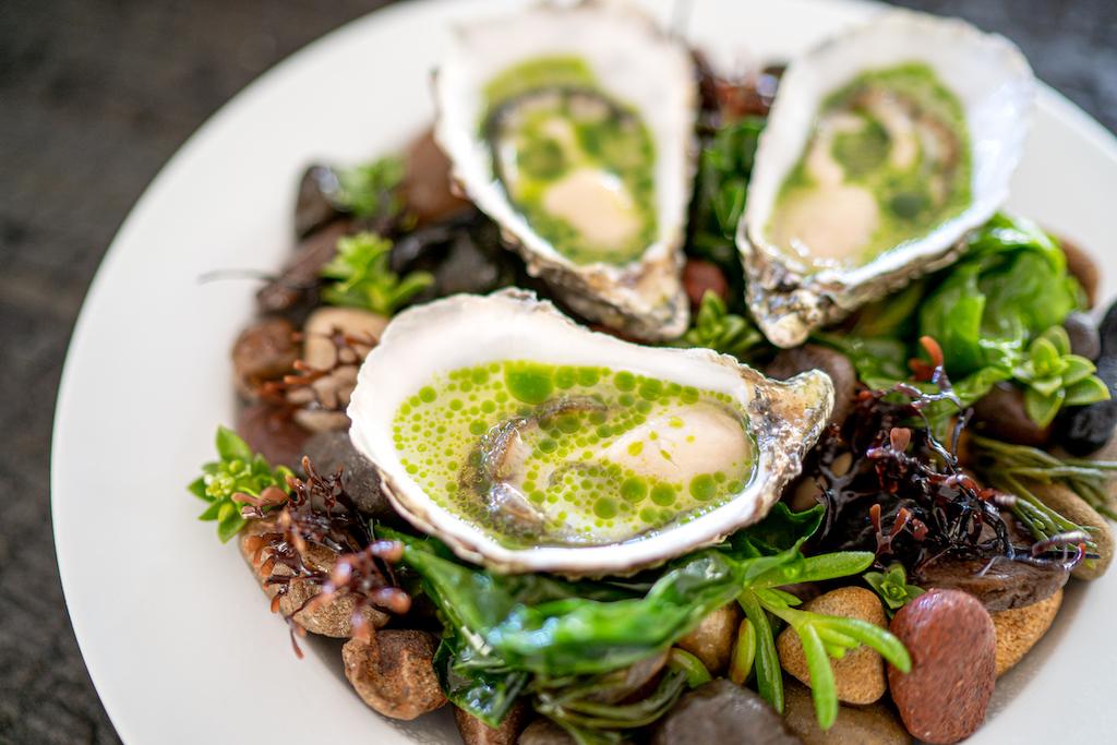 The Glenturret_Cumbrae Oysters Kipper Dashi