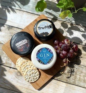 chuckling cheese co truckles and grapes