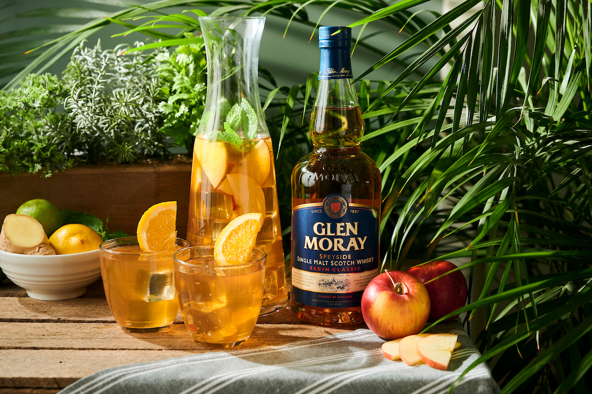 "Glen Moray ""Take it Outside"" summer cocktails."