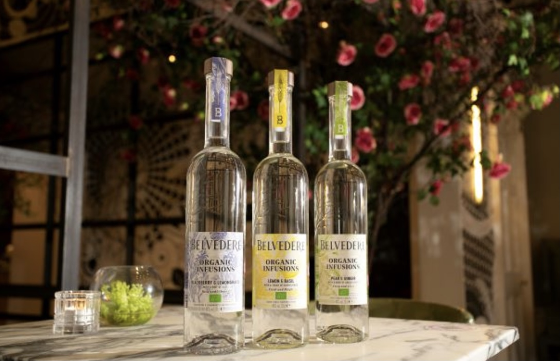 Belvedere organic infusions terrace Tigerlily