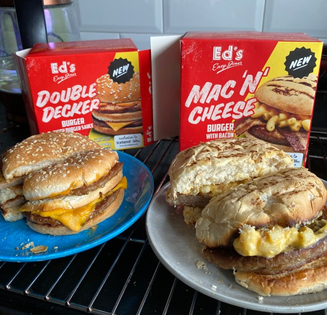 Ed's easy diner microwave meals Iceland