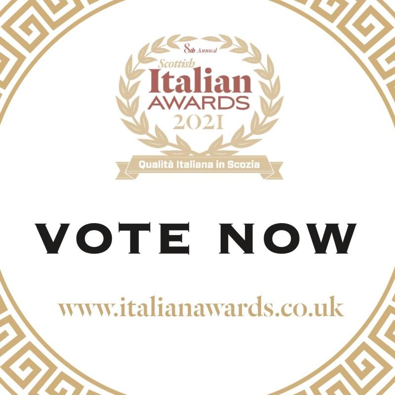 Scottish italian awards 2021  vote