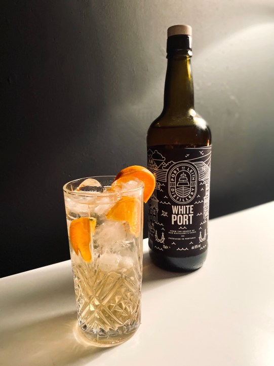 port of leith white port and tonic