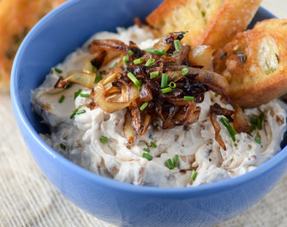 Caramelized Onion Dip:  A Great Holiday Party Dip