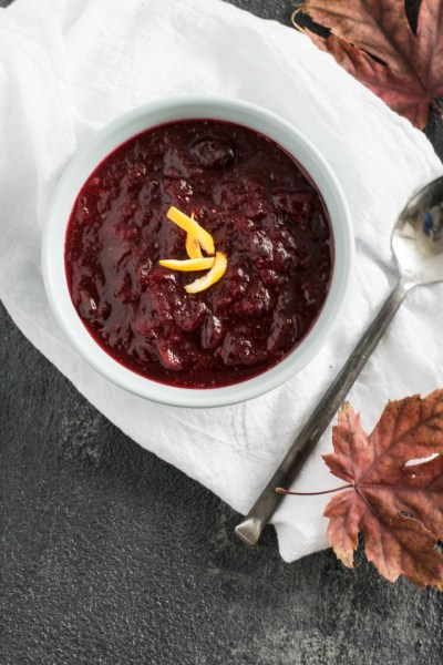 Introducing the Basics:  Ideas to Help Plan your Meals + A Simple Cranberry Sauce for the Holidays