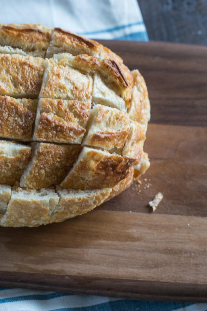 Sliced Bread for Pull-Apart Bread