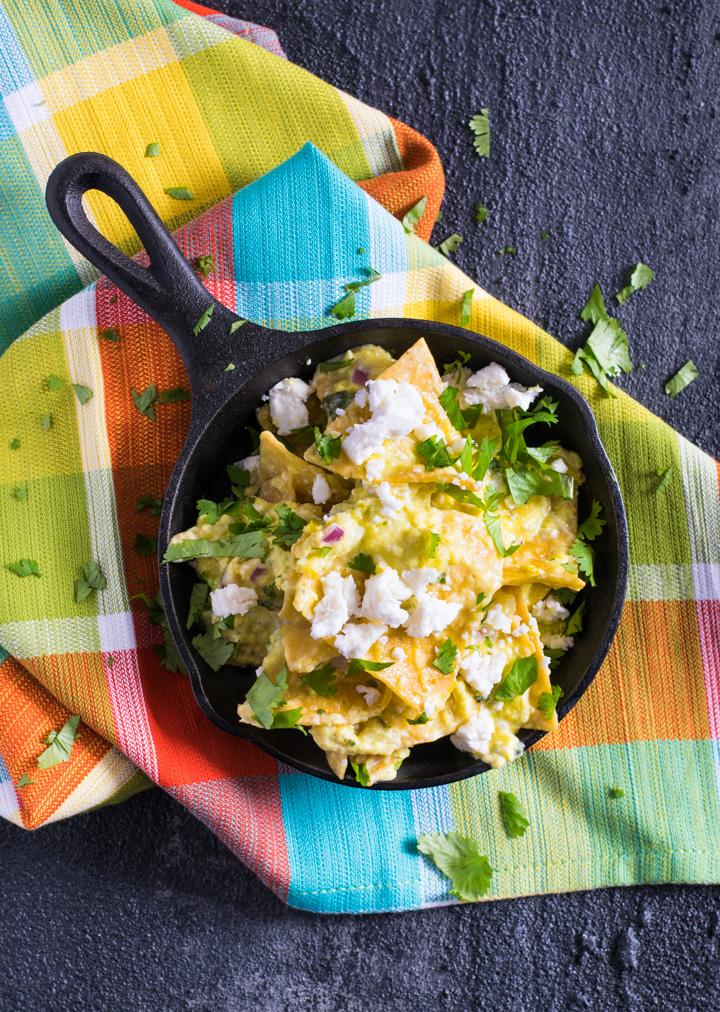 Easy Chilaquiles Verde