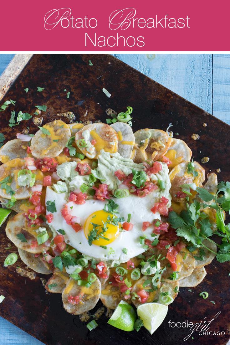 Healthy Potato Breakfast Nachos