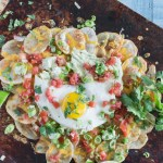 Healthy Potato Breakfast Nachos