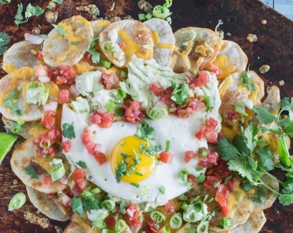 Potato Breakfast Nachos