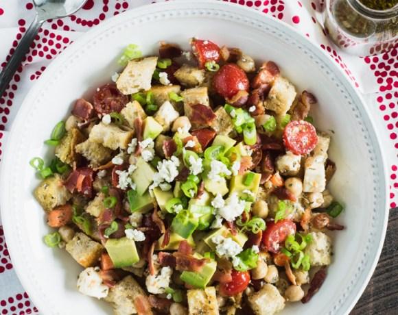 Summer Panzanella (Bread) Salad