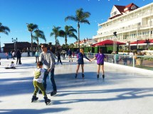 Ice Skating Coast Hotel Del Coronado Dinner