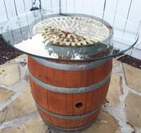 DIY Time: Wine Barrel Cocktail Table Tutorial  Foodie ...