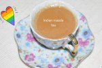 Indian masala tea