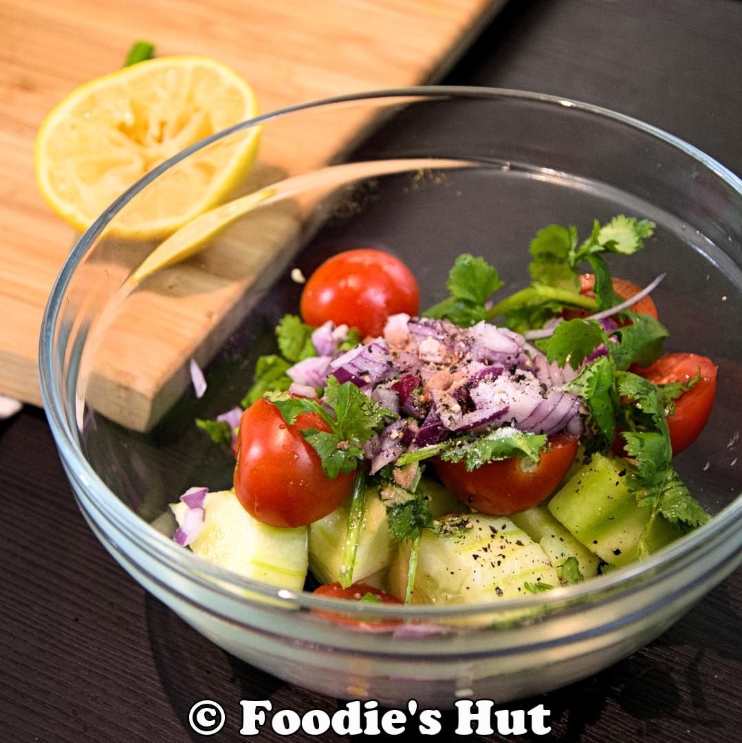 Bengali Cucumber Tomato  Salad