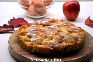Apple cake-recipe by Foodie's Hut